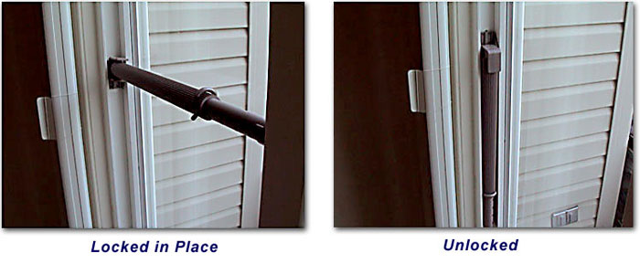 How To Use The Wedgit Patio Door Lock