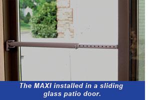 Keep Window Closed for Maximum Security Sliding Window Lock Bar Adjustable Size Sliding Window Security Bar 2 Sliding Glass Window Security Bar Ideal Window Stopper
